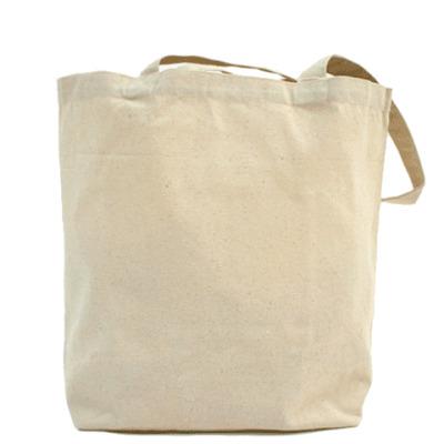 Холщовая сумка Птичка