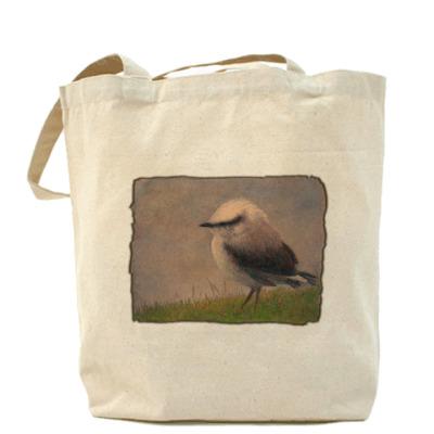 Сумка Холщовая сумка Птичка