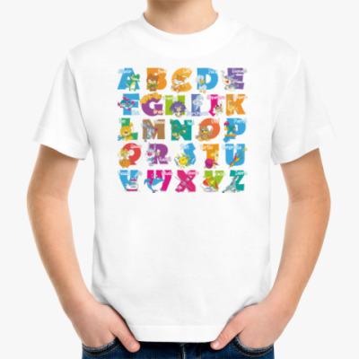 Детская футболка ЛАТИНСКИЙ АЛФАВИТ