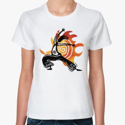 Классическая футболка Yoga