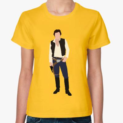 Женская футболка Хан Соло