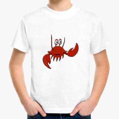 Детская футболка Крабик