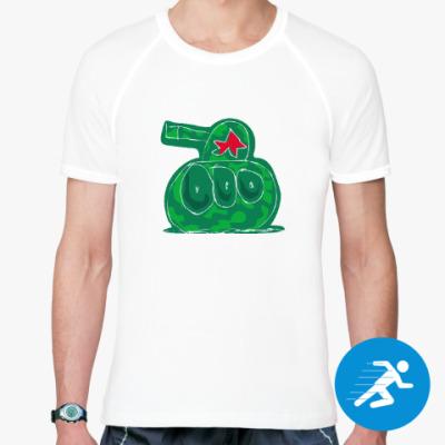 Спортивная футболка танк