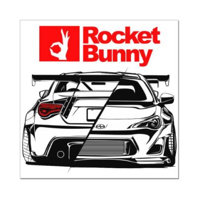 Наклейка (стикер) Rocket Bunny