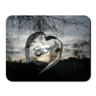 Коврик для мыши Ice heart