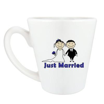 Чашка Латте Just married