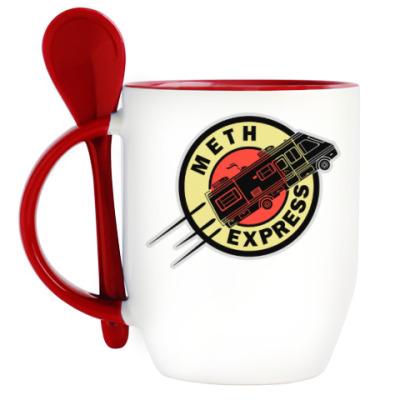Кружка с ложкой Meth Express