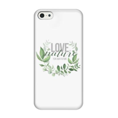 Чехол для iPhone 5/5s LoveNature