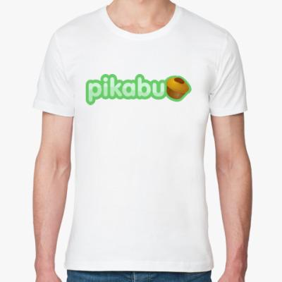 Футболка из органик-хлопка pikabu