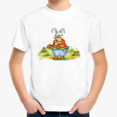 Детская футболка Кролик-обжора