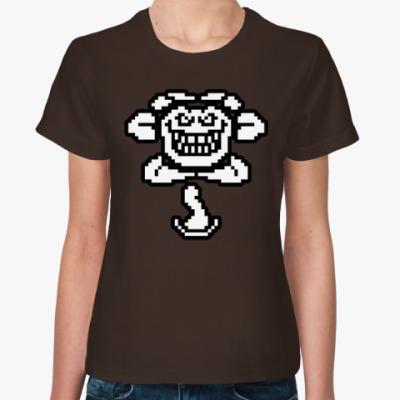 Женская футболка Flowey Evil