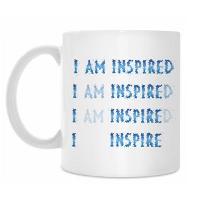 Кружка I am inspired & I inspire