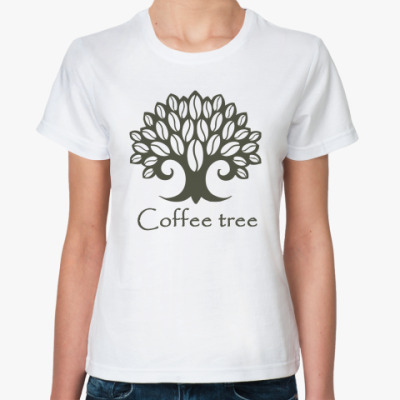 Классическая футболка Кофейное дерево