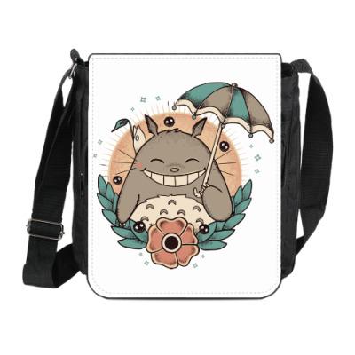 Сумка на плечо (мини-планшет) Smile Totoro