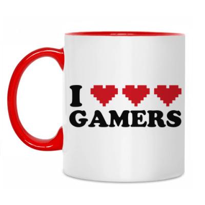 Кружка I love gamers