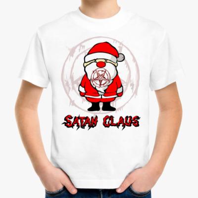 Детская футболка Satan Claus