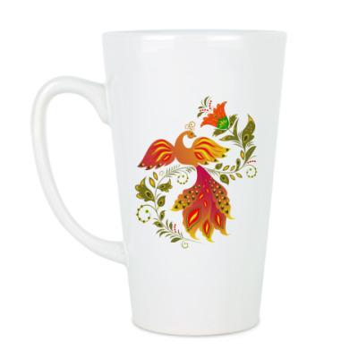Чашка Латте Жар-птица