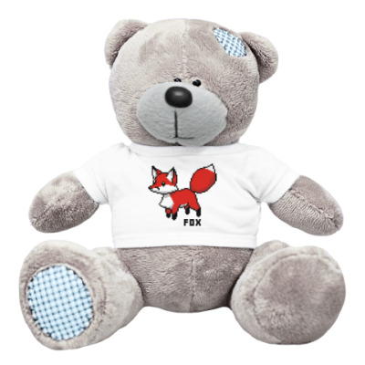 Плюшевый мишка Тедди 8-bit Fox
