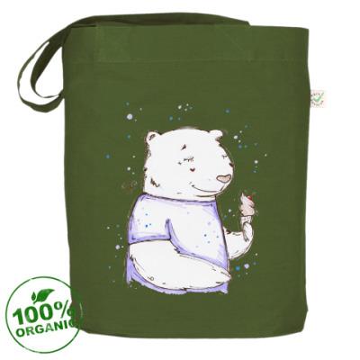Сумка Медведь с мороженым