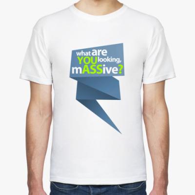 Футболка  футболка YOU ASS2?