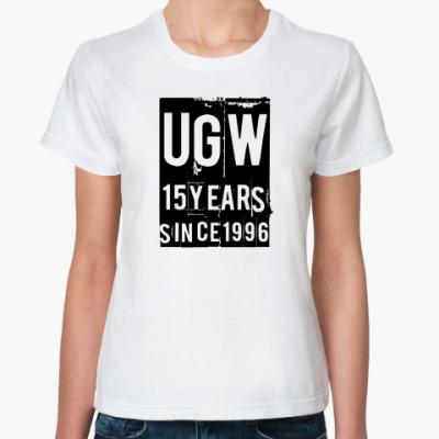 Классическая футболка 15 лет UGW  футболка