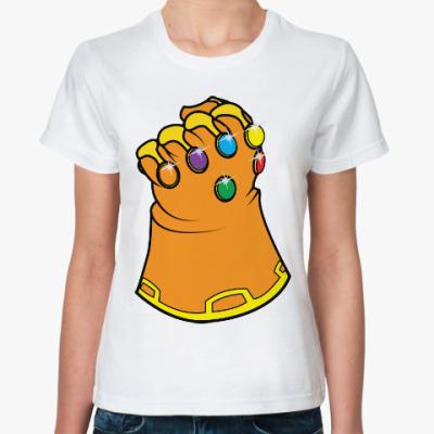 Классическая футболка Перчатка Бесконечности