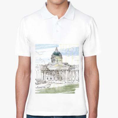 Рубашка поло Казанский собор. Питер.