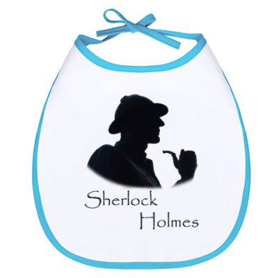 Слюнявчик sherlock holmes