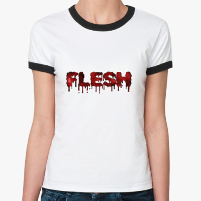 Женская футболка Ringer-T Flesh