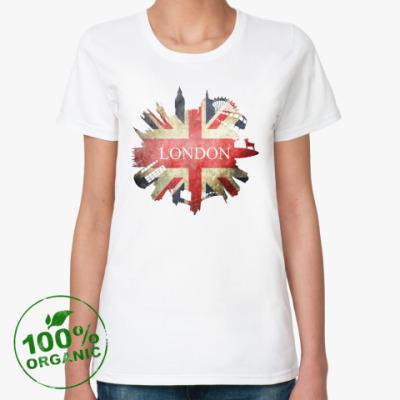 Женская футболка из органик-хлопка LONDON