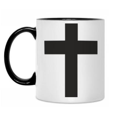 Кружка Черный крест