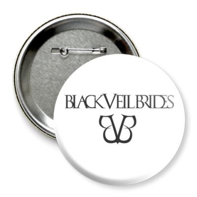 Значок 75мм Black Veil Brides