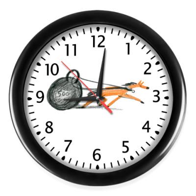 Настенные часы Силач