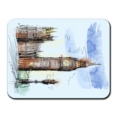 Коврик для мыши Биг-Бен - Big Ben - Англия - Лондон