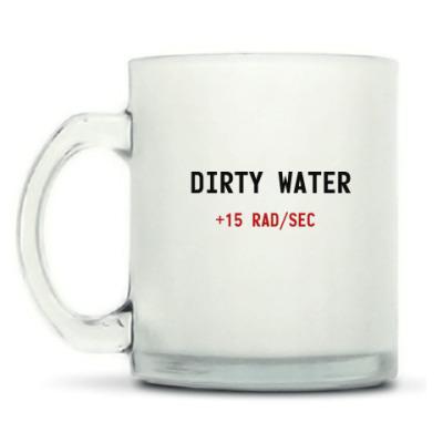 Кружка матовая Fallout DIRTY WATER +15 RAD/SEC