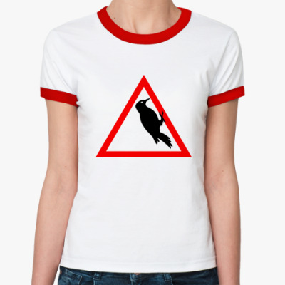 Женская футболка Ringer-T Водятел