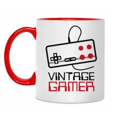 Кружка Vintage Gamer