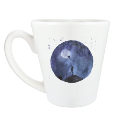 Чашка Латте Дотянуться до луны