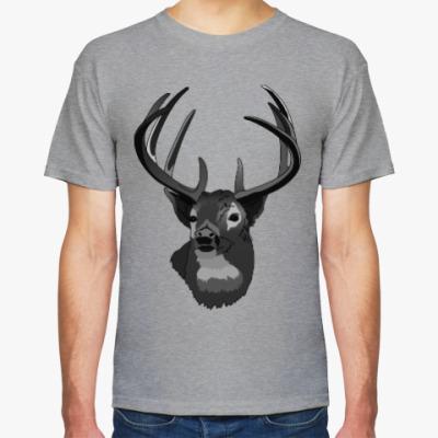 Футболка Олень   Deer
