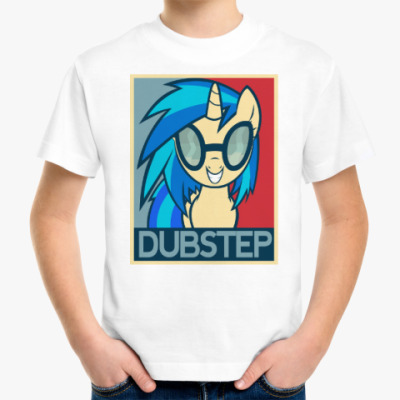 Детская футболка DubStep