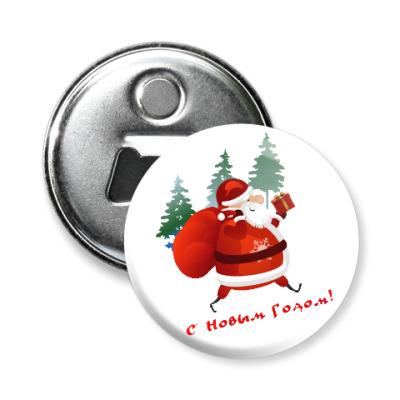 Магнит-открывашка Дед Moroz