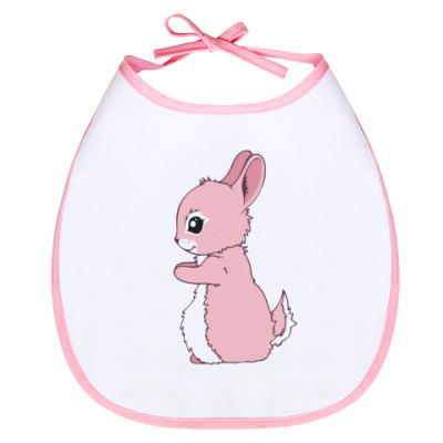 Слюнявчик Милый кролик