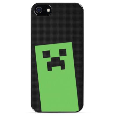 Чехол для iPhone I love Creeper