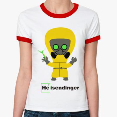Женская футболка Ringer-T Heisendinger