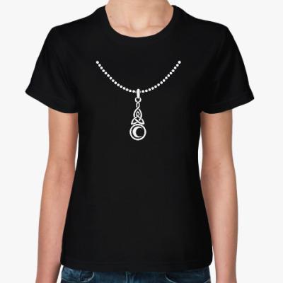 Женская футболка Кельтский амулет
