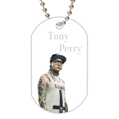 Жетон dog-tag ''Tony Perry''