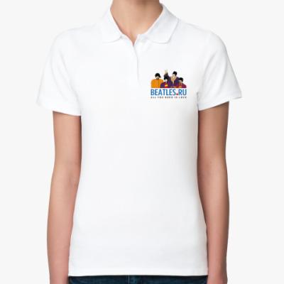 Женская рубашка поло Рубашка поло Beatles.ru (жен)