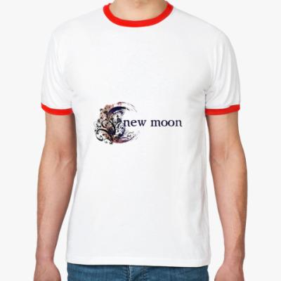 Футболка Ringer-T New moon