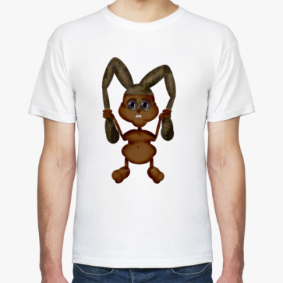 Футболка заяц