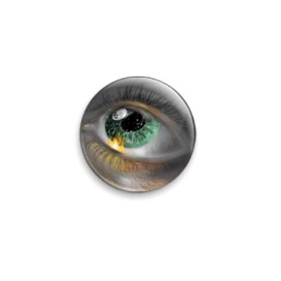 Значок 25мм  Eye see in Heavens